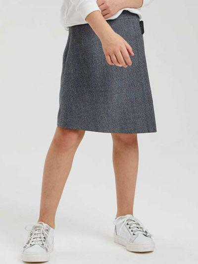 юбка silver spoon для девочки, серая