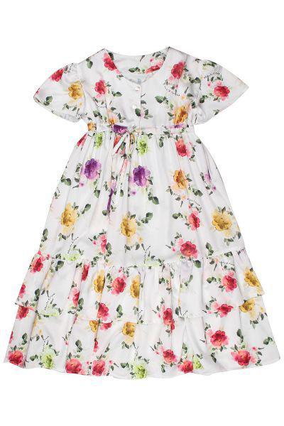 Купить Платье, Manila Grace, Разноцветный, Полиэстер-100%, Женский
