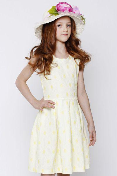 Купить Платье, Y-clu', Желтый, Полиэстер-100%, Женский