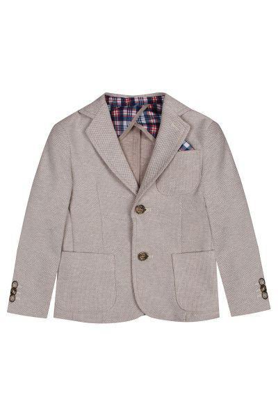 пиджак y-clu' для мальчика, бежевый