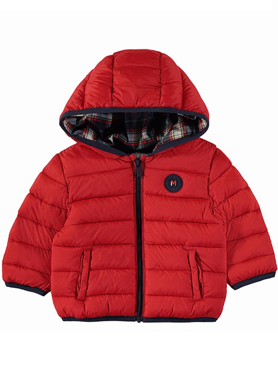 куртка mayoral для мальчика, красная
