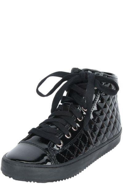 Купить Ботинки, Geox, Черный, Искусственная кожа-100%, Женский