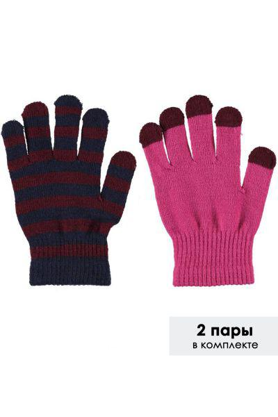 Купить Перчатки, Molo, Разноцветный, Акрил-83%, Спандекс-15%, Эластан-2%, Женский