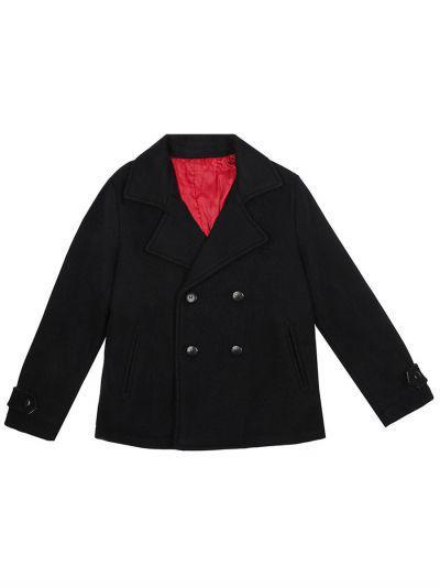 Купить Пальто, Y-clu', Синий, Хлопок-100%, Мужской