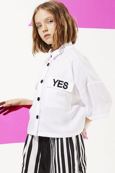 Купить Блуза, To Be Too, Белый, Тенсел-100%, Женский