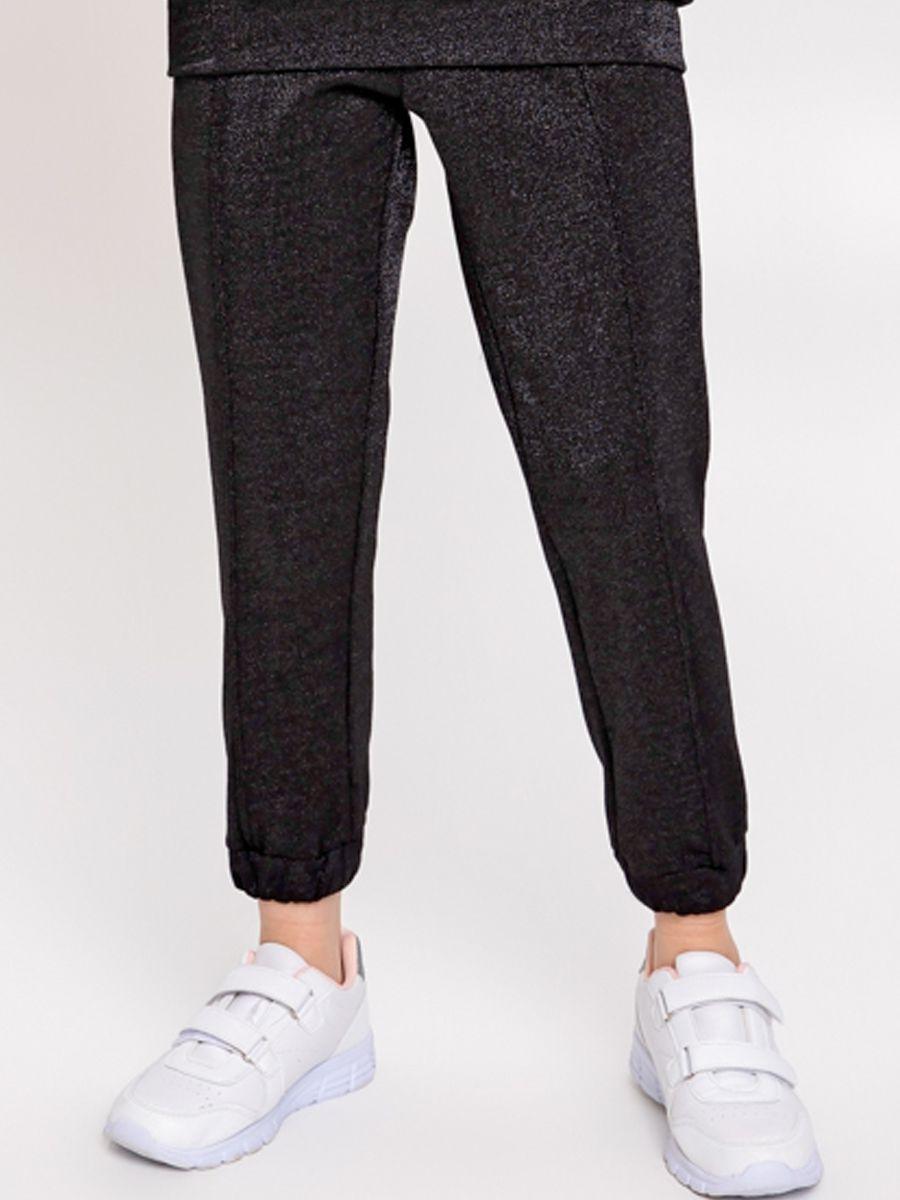 брюки noble people для девочки, черные