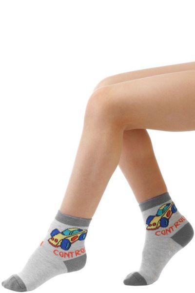 носки charmante для мальчика, серые