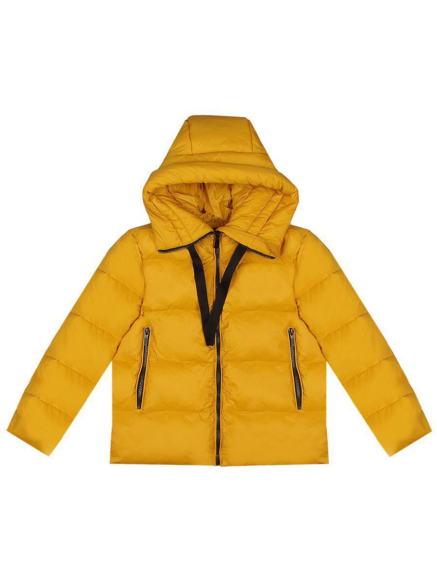 куртка y-clu' для девочки, желтая