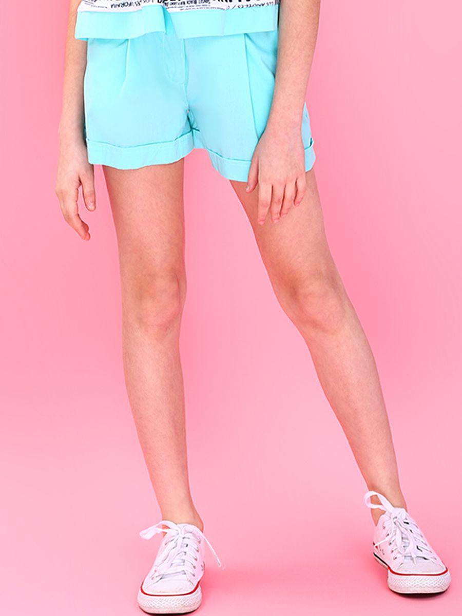 шорты gaialuna для девочки, зеленые