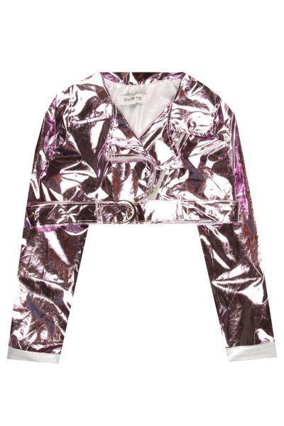 Купить Куртка, Custo Barcelona, Фиолетовый, Полиэстер-100%, Женский