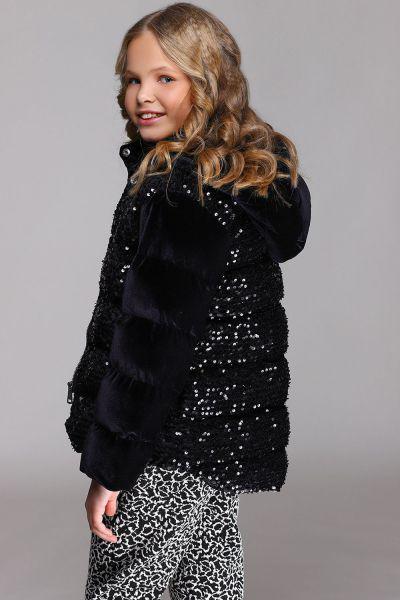 Купить Куртка, To Be Too, Черный, Полиэстер-95%, Эластан-5%, Женский