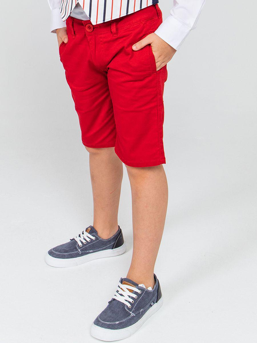 бермуды y-clu' для мальчика, красные