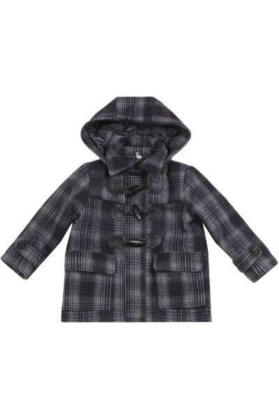 Купить Пальто, Noble People, Серый, Шерсть-60%, Полиэстер-40%, Мужской