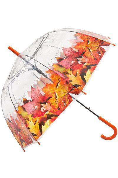 Купить Зонт, Raindrops, Оранжевый, UNI, Женский