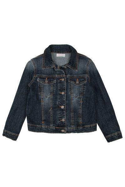 куртка gaudi для девочки, синяя