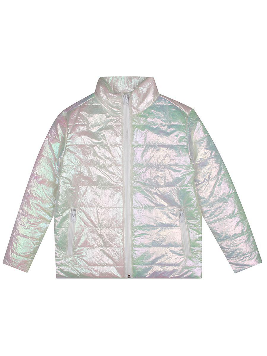 куртка gaudi для девочки, белая