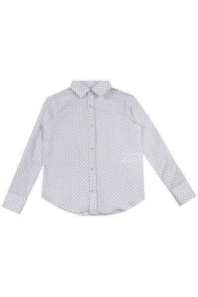рубашка street gang для мальчика, белая