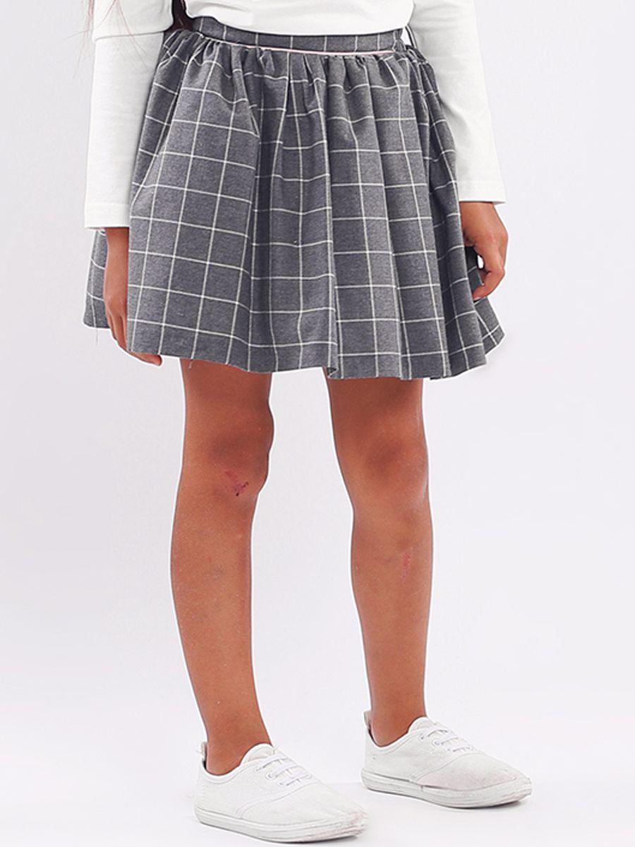 юбка y-clu' для девочки, серая