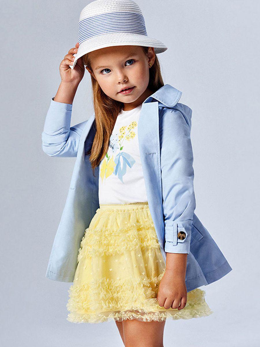 юбка mayoral для девочки, желтая