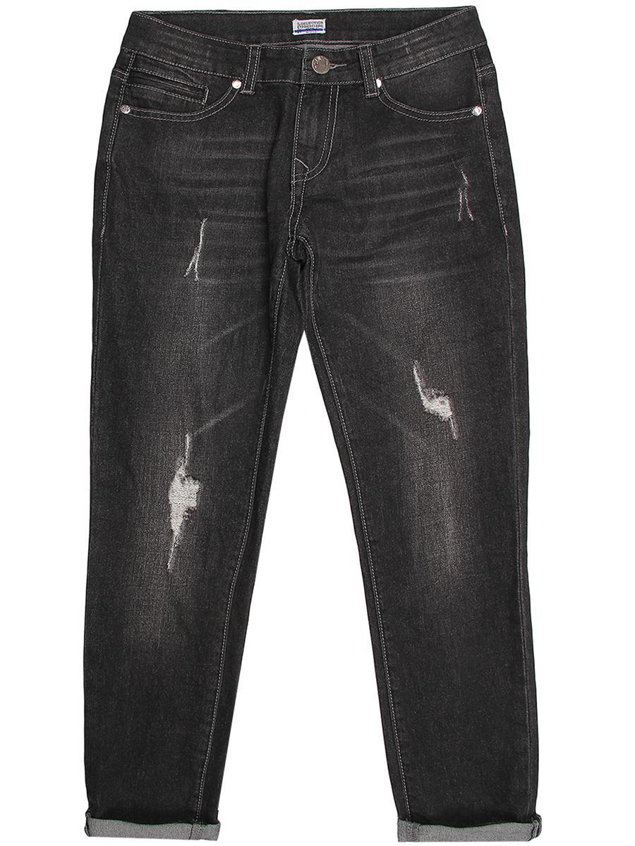 джинсы y-clu' для мальчика, черные