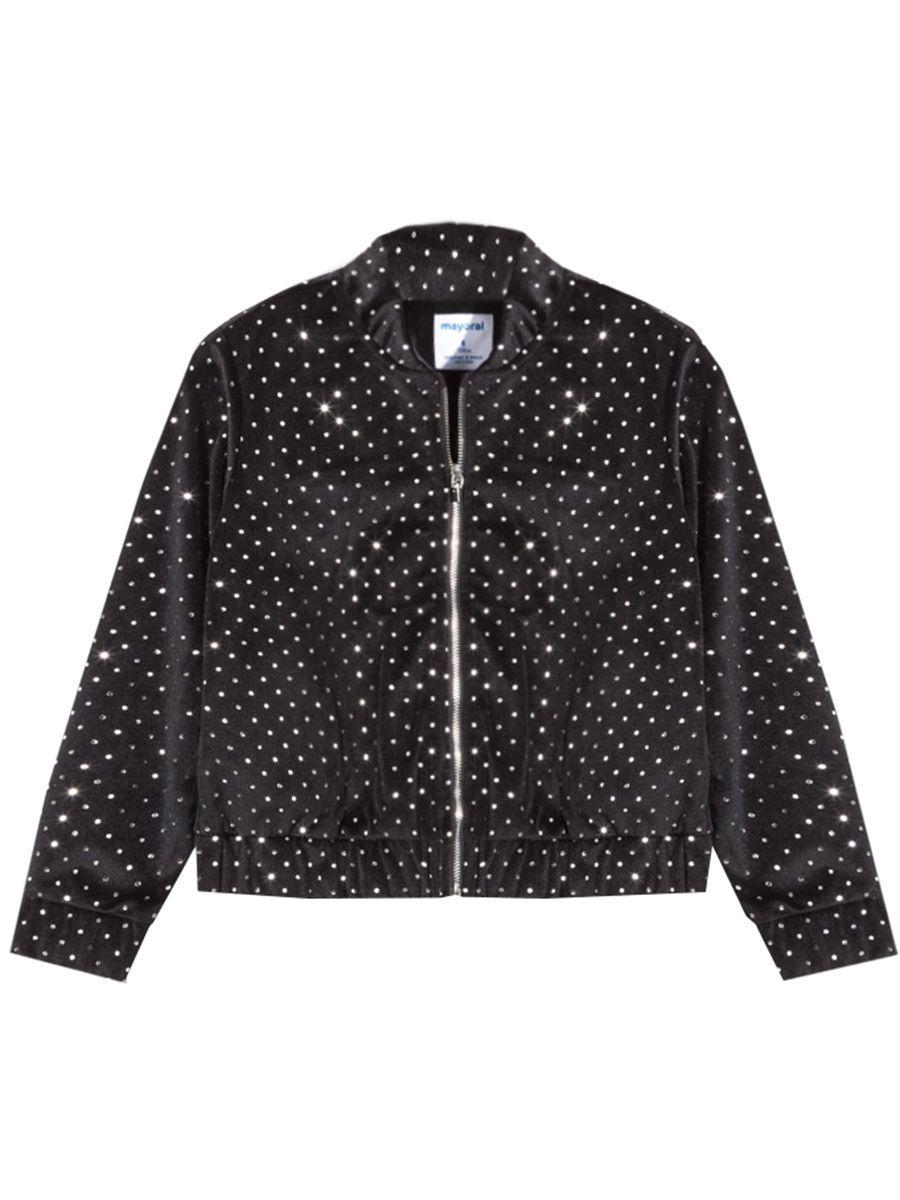 куртка mayoral для девочки, синяя