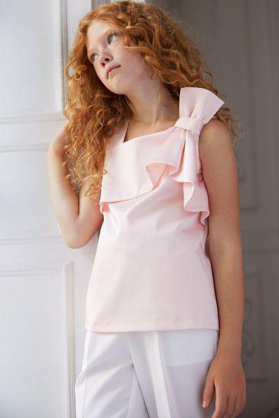 Купить Блуза, Silver Spoon, Розовый, Полиэстер-97%, Эластан-3%, Женский