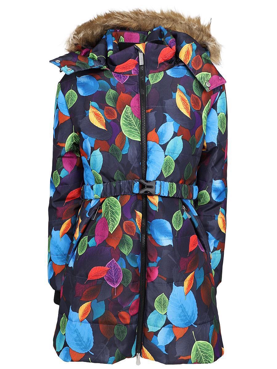 куртка noble people для девочки, разноцветная