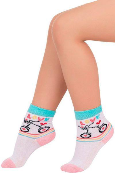 Носки для девочки SAK-1424 белый Charmante, Китай (КНР)