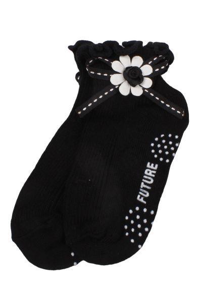 Носки детские для девочки C6/1 коричневый Vtv чёрный