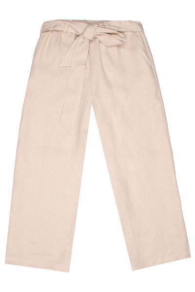 брюки gaudi для девочки, бежевые
