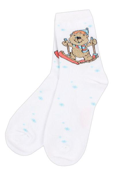 Носки для девочки SAKP-13110 белый Charmante, Китай (КНР)