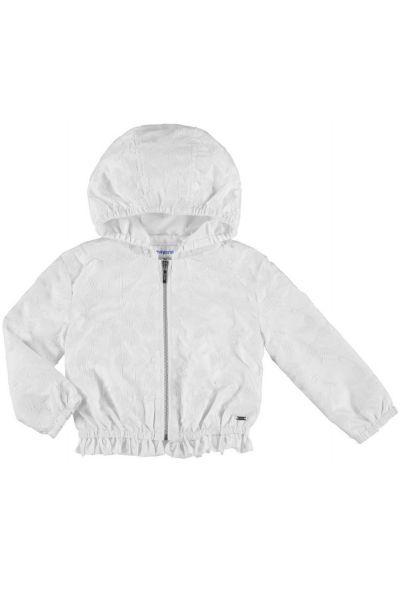 Куртка, Mayoral, Белый, Полиэстер-100%, Женский  - купить со скидкой