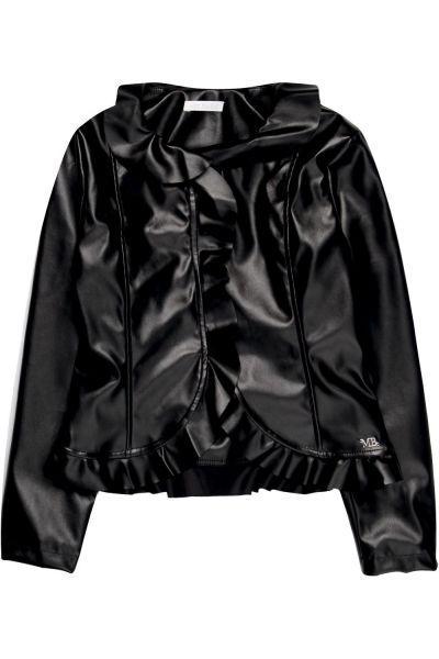 Купить Куртка, Meilisa Bai, Черный, Полиэстер-57%, Полиуретан-43%, Женский