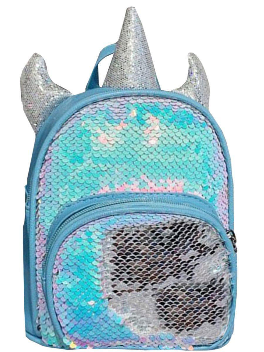 Рюкзак Multibrand голубого цвета