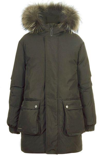 Купить Пальто, Pulka, Зеленый, Мужской