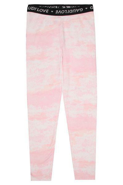 леггинсы gaudi для девочки, розовые