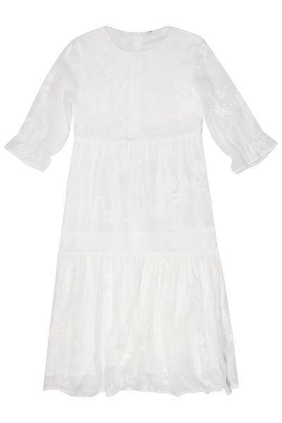Купить Платье, Manila Grace, Белый, Полиэстер-100%, Женский