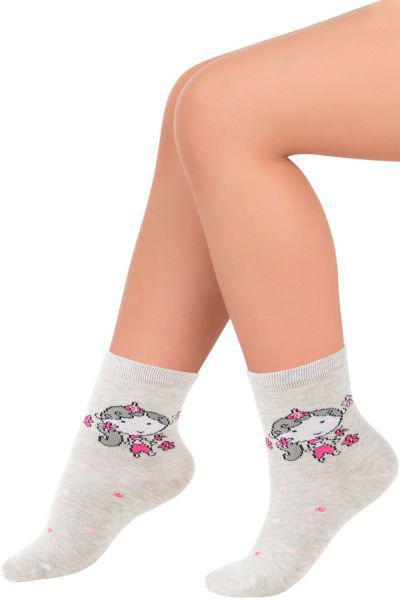 носки charmante для девочки, серые