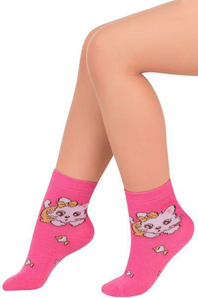 Носки для девочки SAK1415 розовый Charmante, Китай (КНР)