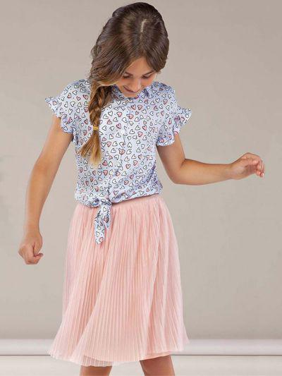 юбка mayoral для девочки, розовая