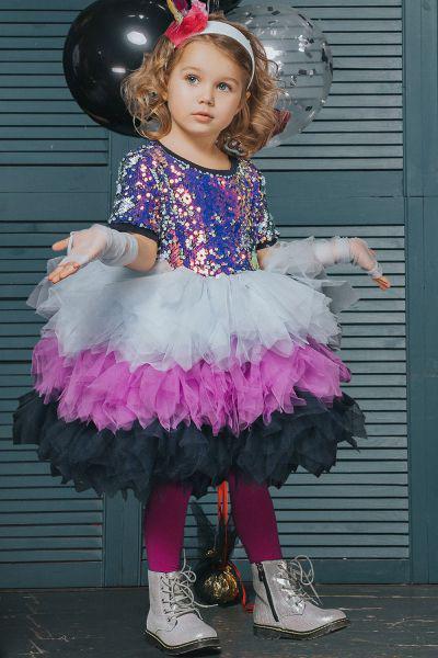 Купить Платье, Noble People, Фиолетовый, Полиэстер-100%, Женский