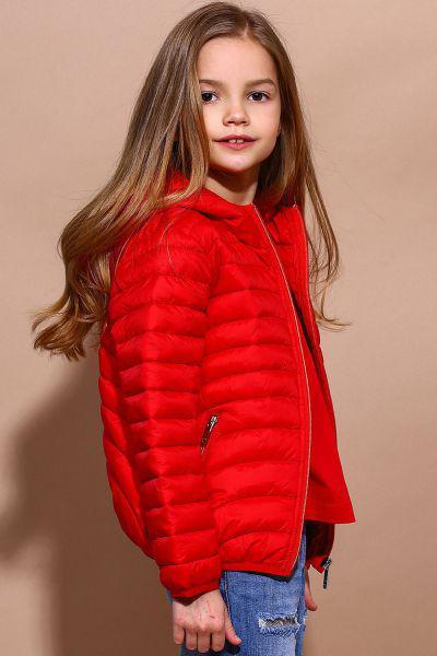 Купить Куртка, Y-clu', Красный, Полиамид-100%, Женский