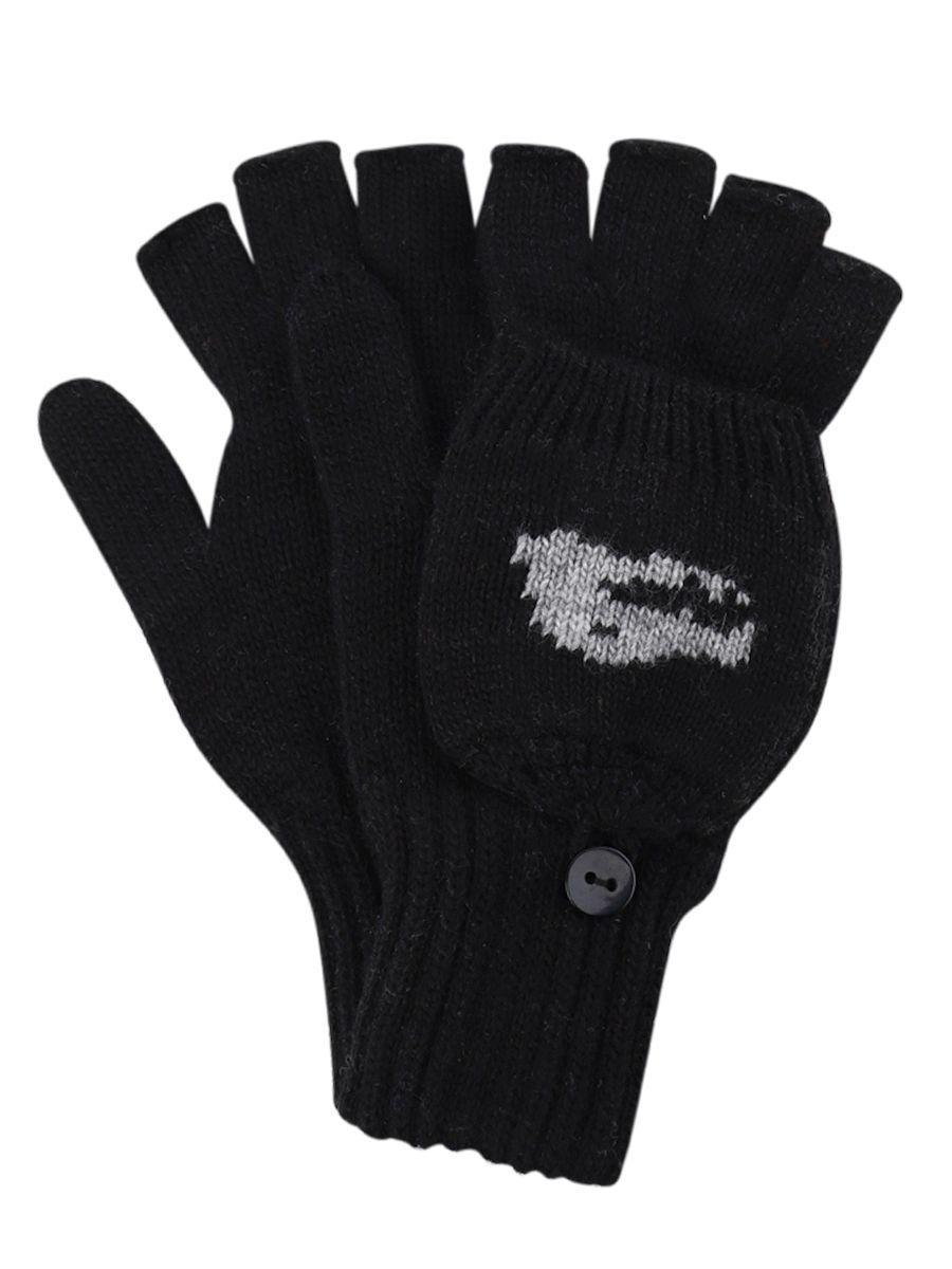 перчатки noble people для мальчика, черные