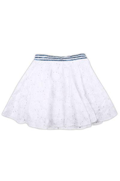 юбка meilisa bai для девочки, белая