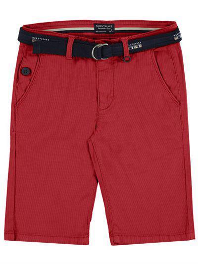 шорты mayoral для мальчика, красные