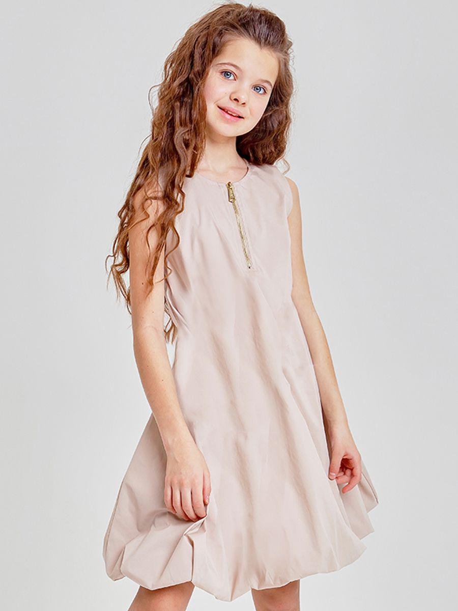 платье to be too для девочки, бежевое