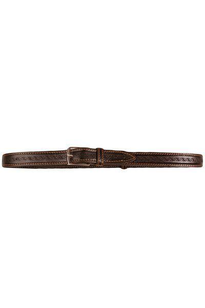 Ремень для мальчика RD625/270 чёрный Амарант коричневый, Российская Федерация
