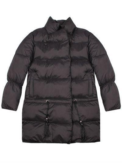 Купить Куртка, Manila Grace, Черный, Нейлон-100%, Женский