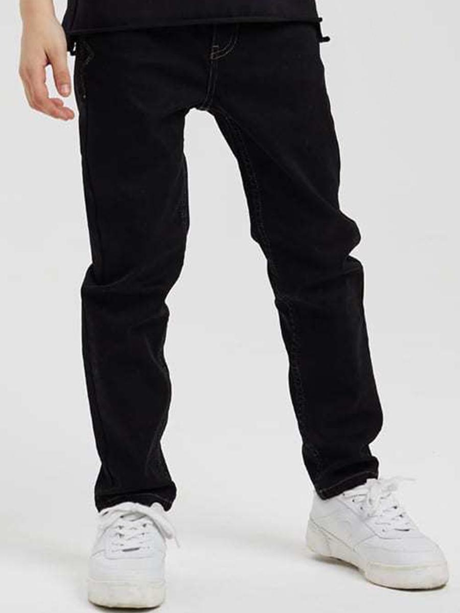 джинсы silver spoon для мальчика, черные