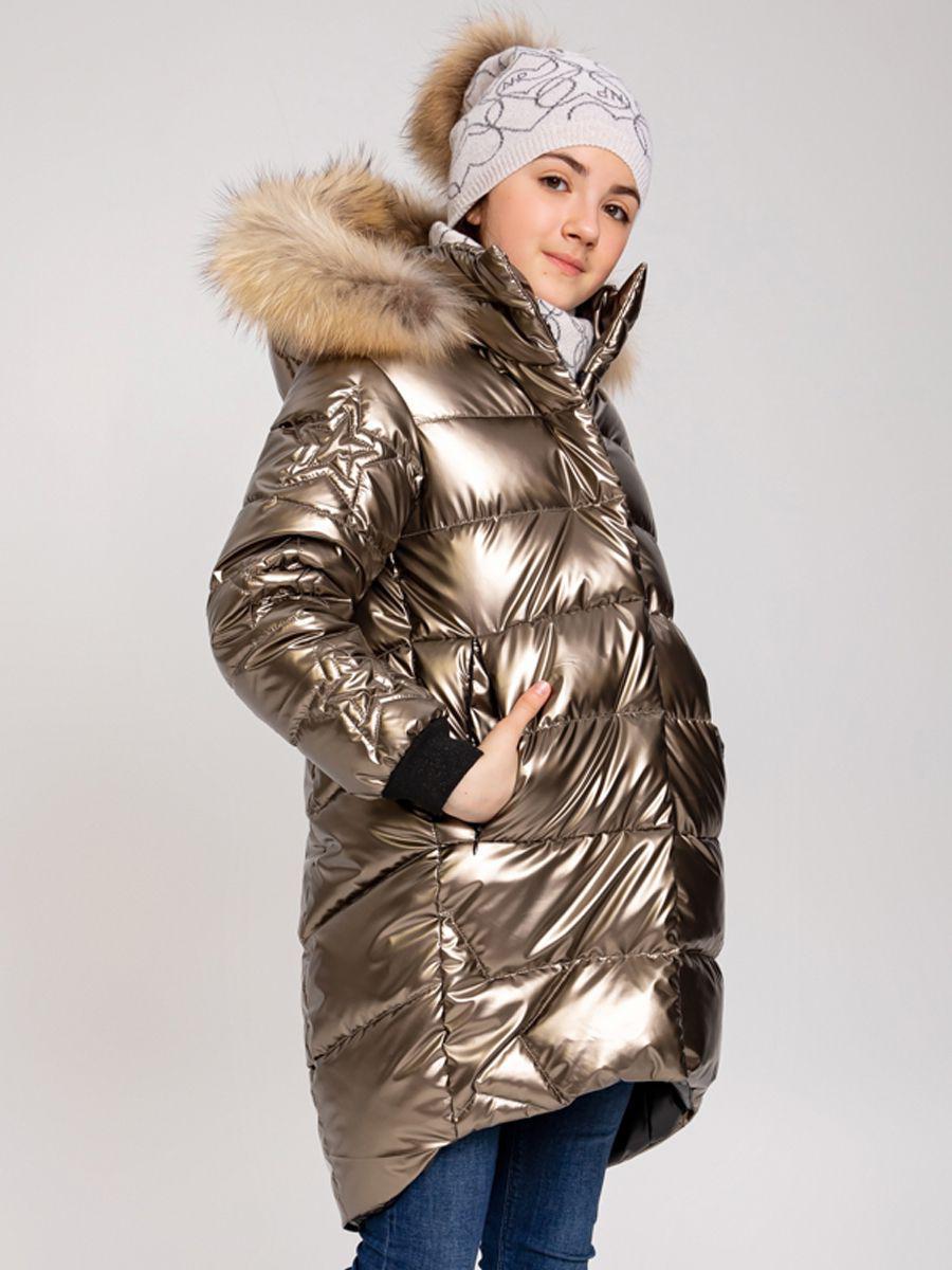Купить Пальто, Noble People, Коричневый, Полиэстер-100%, Женский
